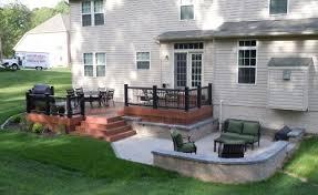 small decks patios small. Fabulous Deck And Patio Ideas Combination Design Small Decks Patios