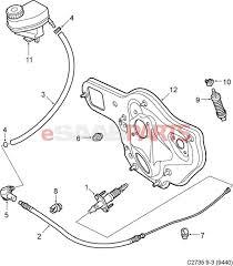 Parts ® saab 9 3 steering gear linkage oem parts