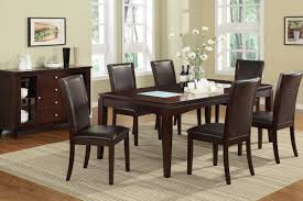 dining table with sofa chairs. brown glass dining table with sofa chairs