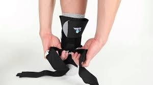 Trilok Ankle Brace Size Chart Bioskin Trilok Ankle Brace Video Review Www Dme Direct Com