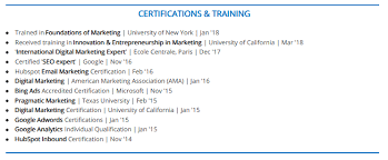 Certifications On Resume Adorable The 28 Guide To Listing Certifications On A Resume