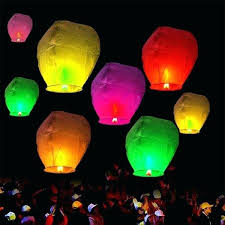 floating water lanterns diy tangled pool sky flying paper lantern home improvement gorgeous s details about
