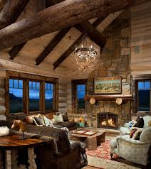 Interior Design Log Homes Impressive Design Inspiration