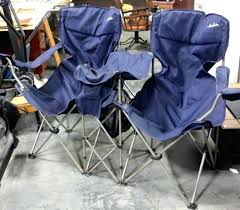 check this maccabee double folding chair lot of double folding camp chair with drink and snack