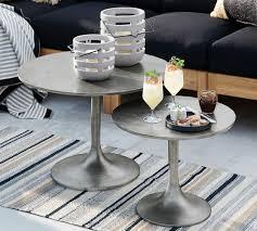 metal coffee table pottery barn