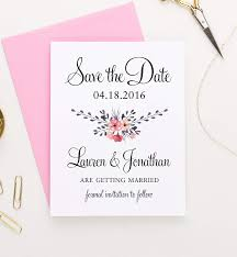 Save The Date For Wedding Floral Save The Date Save The Date Cards For Weddings Rustic Save The Date Wedding Save The Date Wedding Invites Save The Date Personalized Your