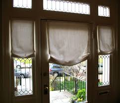 shades for front doorFront Door Window Treatments I79 On Best Home Designing