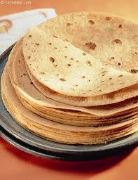 Chapati Calories Chart Calories Of Rotlis Gujarati Recipe Tarladalal Com