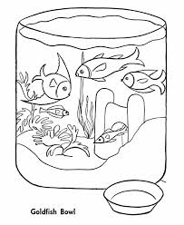 Small Picture Emejing Fish Bowl Coloring Page Printable Photos Coloring Page