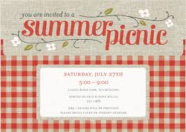 Picnic Invitations Templates Free Free Company Picnic Party Invitation Template Beach Picnic