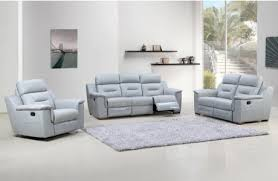 grey leather recliner. Becky Grey Leather Recliner Living Room