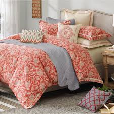 Bedroom: Appealing Coral And Turquoise Bedding And Decorating ... & Cheap Comforter Sets Queen   Coral and Turquoise Bedding   Coral and Teal  Bedding Adamdwight.com