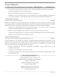Creative Cover Letter For Resume Pastry Chef For Sample Pastry