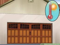 paint garage doorHow to Paint a Garage Door 12 Steps with Pictures  wikiHow