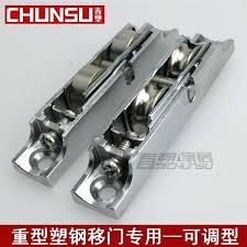sliding door wheels plastic steel sliding door pulley weighted adjule sliding door roller stainless steel needle