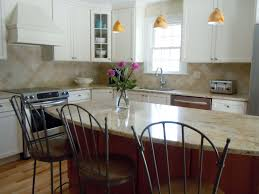 Kitchen Work Table Wood Small And Simple Idea Of Kitchen Room Combined With Simple Wooden