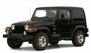 used 2001 jeep wrangler sahara