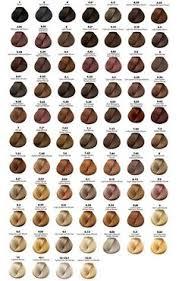 hair dye colors majirel chart