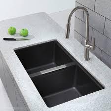 Kraus 325 X 1888 Double Basin Undermount Kitchen Sink Kitchen