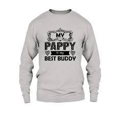 Best Black Shirt Design Amazon Com Are Black Pappy Is My Best Buddy T Shirt Design