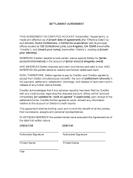 Credit Card Release Form Settlement Agreement And Release Form Sample Basic Credit Card