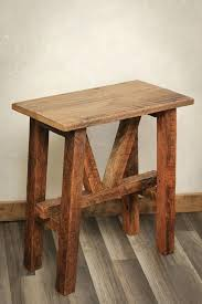 reclaimed wood accent table reclaimed wood side table accent table end table barn reclaimed wood round