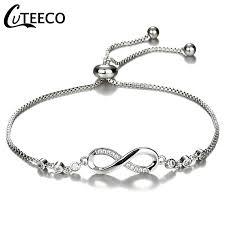 <b>CUTEECO</b> European Fashion Lady Charms <b>Bracelet</b> Cubic Zirconia ...