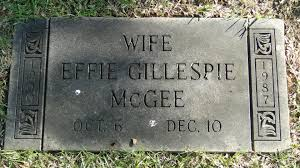 Effie Estelle Riley McGee (1900-1987) - Find A Grave Memorial