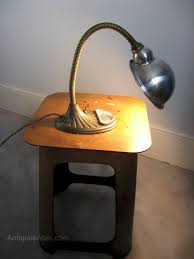 1940s bendy desk lamp antique lighting antique desk lamps
