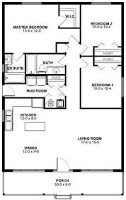 Small houses  Floors and Small house floor plans on PinterestFirst Floor Plan of Ranch House Plan