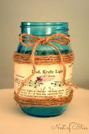 Decorative Jars Ideas Sheet Music Mason Jar Candle 10