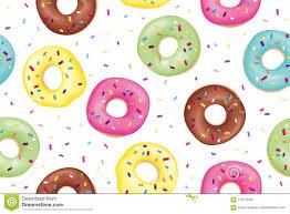 Donut Pattern Unique Design