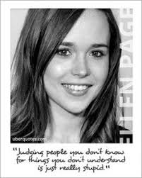 Ellen Page on Pinterest | Drew Barrymore, Actresses and Lgbt Quotes via Relatably.com
