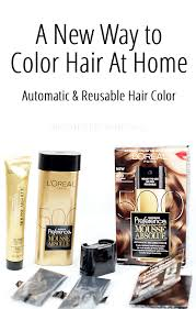 A New Way To Color Hair At Home Loreal Superior Preference