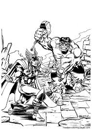 Small Picture Hulk coloring pages overview 1