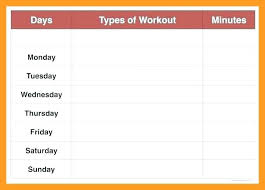 Weekly-Workout-Schedule-Template-Exercise-Plan-Excel - Custom Kinetics