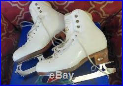 Gam Figure Skates Size Chart Size 5 B A Riedell Model 1310 Figure Skates With Gam G18