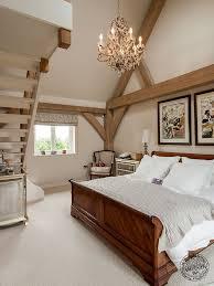 Mezzanine Bedroom Eco Timber Frame Open Plan Timber Frame House
