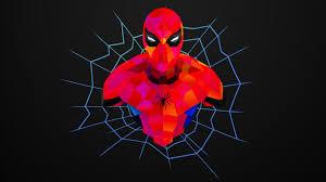 creative graphics spider man wallpaper
