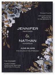 glitter option for wedding invitation