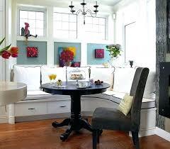 round breakfast nook table corner furniture also45 nook