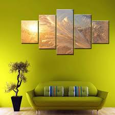 2019 modular picture cuadros modern scenery painting decoration canvas 5 panel beautiful landscape art frame wall for living room from z793737893