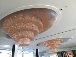 Light Fixtures Miami Fl Chandeliers Inside Fontainebleau Hotel In Miami Florida