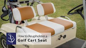 Golf Cart Seat Cover Pattern Interesting Design