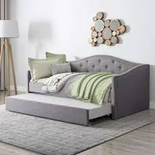Wood Daybeds Bedroom Furniture The Home Depot