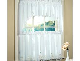 gingham kitchen curtains red valance country and white cafe blue c