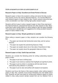 research paper on excellent and great points to written  research paper on excellent and great points to written papers for fr