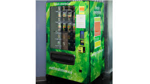 Vending Machine Wraps Amazing Vancouver Start Up Successfully Sells Vegetarian Foods Via Vending
