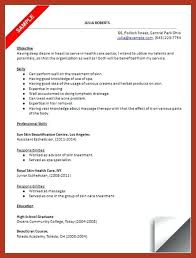 Objective For Esthetician Resume Here Are Esthetician Resume