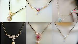 Light Weight Black Beads Latest Light Weight Black Beads Mangalasutra Chains Light Weight Gold Nallapusalu Designs